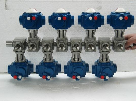 Habonim actionneur Compact Manifold