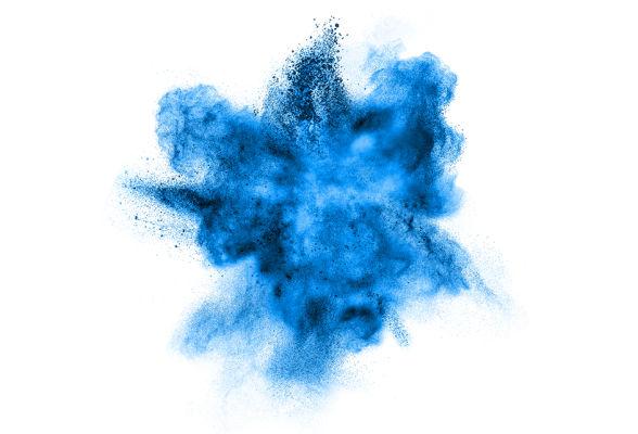 La poudre de cobalt projetée change les propriétés des alliages.